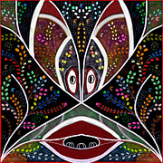 The Troubled Tribe Print by Karunita Kapoor
