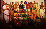 Third Countries World Prints - The Troupe Print by Muyiwa OSIFUYE