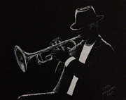 Player Originals - The Trumpet Player by Carl Frankel