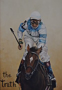 Kentucky Derby Painting Originals - The Truth by Martin Schmidt