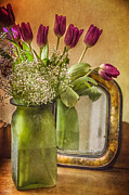 Compose Photos - The Tulips Stand Arrayed - A Still Life by Terry Rowe