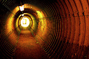 Avante-garde Photo Posters - The Tunnel Poster by Theresa Tahara