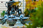 Luis Santos - The Turtle Fountain in...