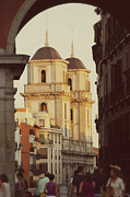Two Towers Framed Prints - The two towers of Catedral de san isidro Framed Print by Ivy Ho