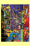 The Tzaddik Lives On Emunah 9c Print by David Wolk