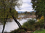 Umpqua River Prints - The Umpqua River Print by   FLJohnson Photography