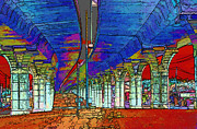 Freeway Digital Art - The Underground by Linda Phelps