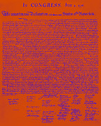 4th Posters - The United States Declaration of Independence 20130215m108 Poster by Wingsdomain Art and Photography
