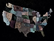 Pol Ledent - The United States map 3