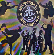 Stencil Art Paintings - The Universal Zulu Nation by Tony B Conscious