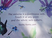 Sign In Florida Photo Prints - The Universe Print by Kay Gilley