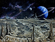 Landscape Reliefs Metal Prints - The Universes Backyard Metal Print by Danny Jimenez
