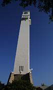 The University Of Concepcion Clock Tower Print by Thomas D McManus