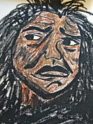Anger Pastels - The Unspoken Word by Esther Anne Wilhelm
