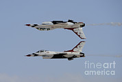 Featured Metal Prints - The U.s. Air Force Thunderbirds Metal Print by Remo Guidi