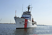 Rescue Station Framed Prints - The U.s. Coast Guard Cutter Valiant Framed Print by Stocktrek Images