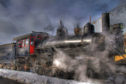 Canon 7d Prints - The V and T Steam Train Print by Donna Kennedy