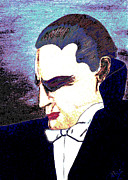 Noir Digital Art - The Vampire by Alys Caviness-Gober