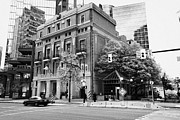 Vancouver Photo Prints - the vancouver club building west hastings street heritage district Vancouver BC Canada Print by Joe Fox