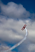 Stearman Photos - The Vapor Trail by David Patterson