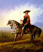 Wa Paintings - The Vaquero by James Walker