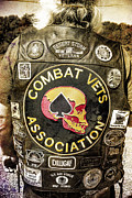 Combat Vets Association Posters - The Vest Poster by Jeff Swanson