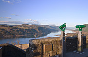 Viewpoint Photos - The view Columbia River Gorge Oregon. by Gino Rigucci