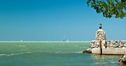 White Caps Prints - The View From The Mitchells Place in Islamorada Print by Michelle Wiarda