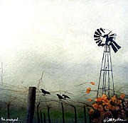 Wine Paintings - The Vineyard... by Will Bullas