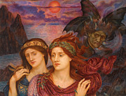 Famous Artists - The Vision by Evelyn De Morgan