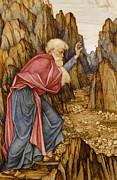The Vision Of Ezekiel The Valley Of Dry Bones Print by John Roddam Spencer Stanhope