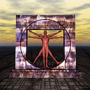 Walter Oliver Neal - The Vitruvian Man