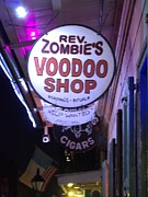 Voodoo Shop Posters - The Voodoo Shop Swign Poster by Anthony Walker Sr