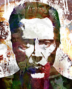 Stencil Art Digital Art - The Walken by Bobby Zeik