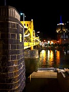 Roberto Clemente Bridge Photos - The walkway by Erica Michelle