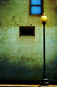 Streetlight Digital Art - The Wall and the Lamppost by Kathleen K Parker