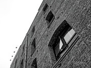 Brick Walls Prints - The Walls Have Eyes Print by Donna Blackhall