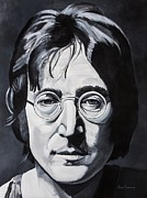 Musician Portrait Painting Originals - The Walrus by Brian Broadway