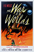Award Winner Framed Prints - The War of the Worlds Framed Print by Nomad Art And  Design