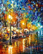 Leonid Afremov - The Warm Light Of The...