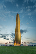 Democracy Framed Prints - The Washington Monument Framed Print by Kieran Brimson