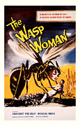 Movie Mixed Media - The Wasp Woman 1959 by Presented By American Classic Art