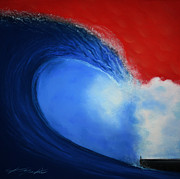 Wave Pastels - The Wave by Chris Mackie