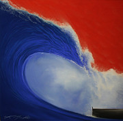Wave Pastels - The Wave II by Chris Mackie
