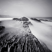 Fine Art Photo Prints - The Wavebreaker Print by Nina Papiorek
