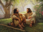 Laughing Paintings - The Way of Joy by Greg Olsen