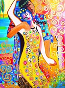 Klimt Painting Originals - The Way We Were by Susi Franco