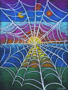 Web Pastels Posters - The Web of Life Poster by Diana Haronis