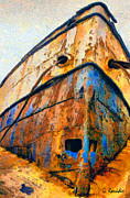 The Weeping Boat Print by George Rossidis