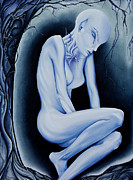 Sullen Paintings - The Weeping of a Thousand Years by Amy Elizabeth  Quirk